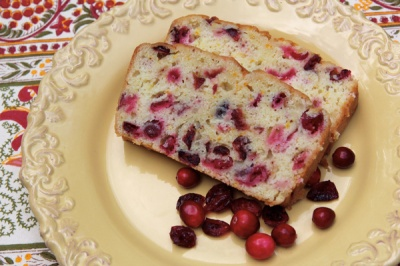Cranberry-Orange--Bread